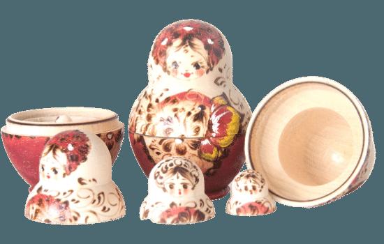 The Five Koshas Nesting Dolls
